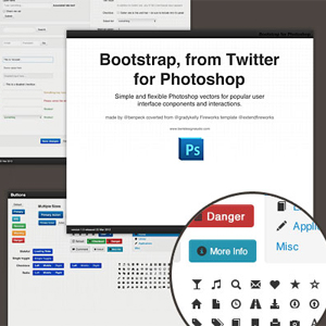 Twitter Bootstrap GUI & Wireframe Resources